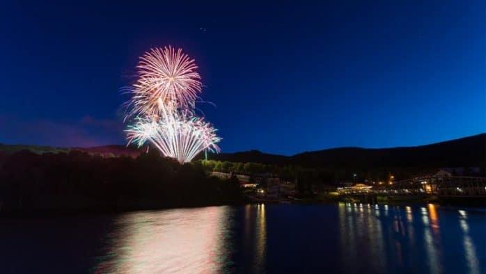 Fireworks to light up the night sky in Rutland, Killington