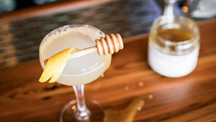 Spirits to lift your spirits: The Bee's Knees