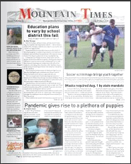 Mountain Times – Volume 49, Number 31 – July 29 – Aug. 4, 2020