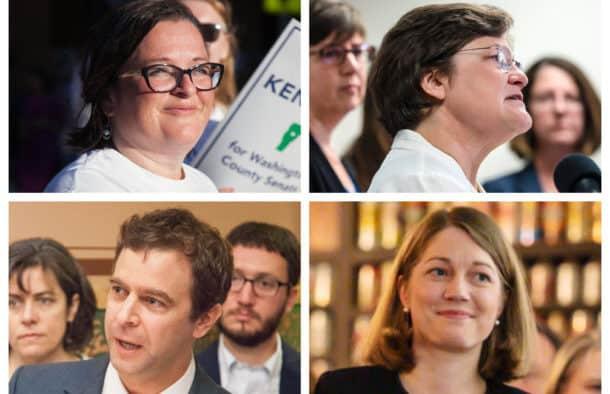 Ten seek to advance in lieutenant governor race
