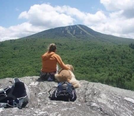 At the top of the mountain, I find peace
