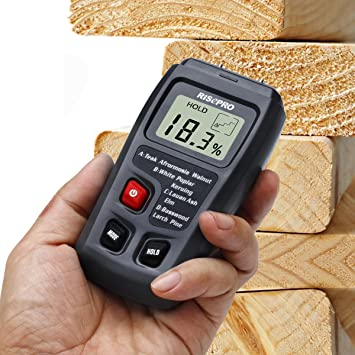 Check out free wood moisture meters at your local Vermont library