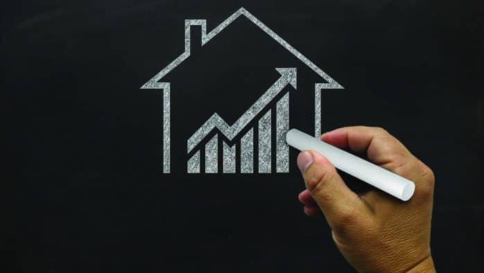 Home improvements trend higher