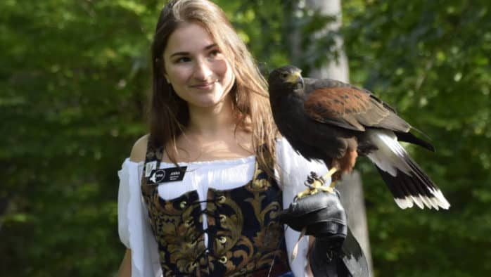 VINS celebrates the sport of kings — falconry!
