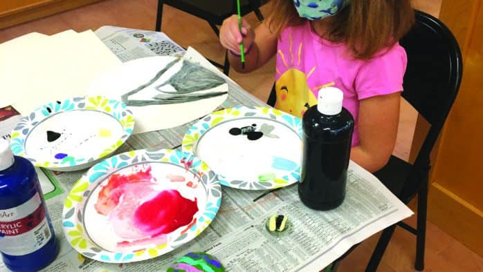 Imagination reigns at Pawlet Library summer camp
